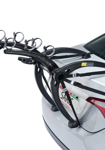 Saris Bones Trunk Rack: 3-Bike Black