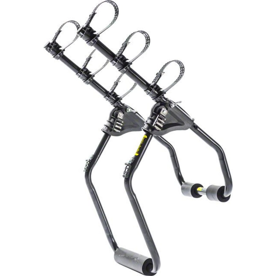 Saris Sentinel Trunk Rack: 3-Bike Black