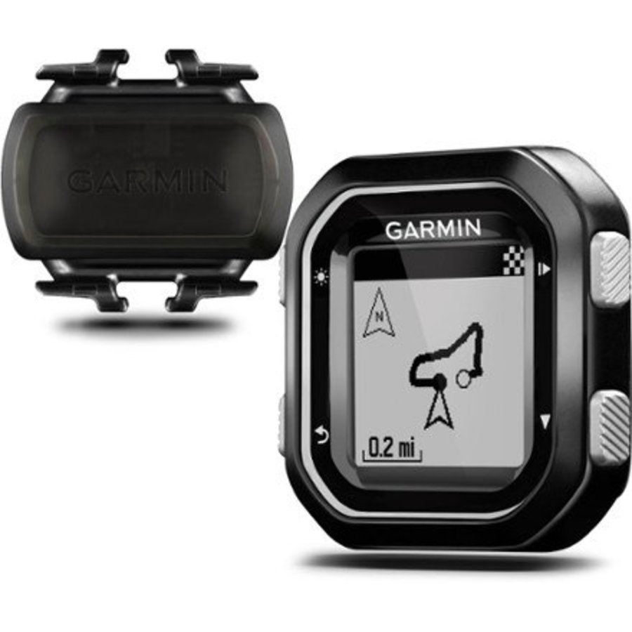 Garmin Edge 25 GPS Cycling Computer Cadence Bundle