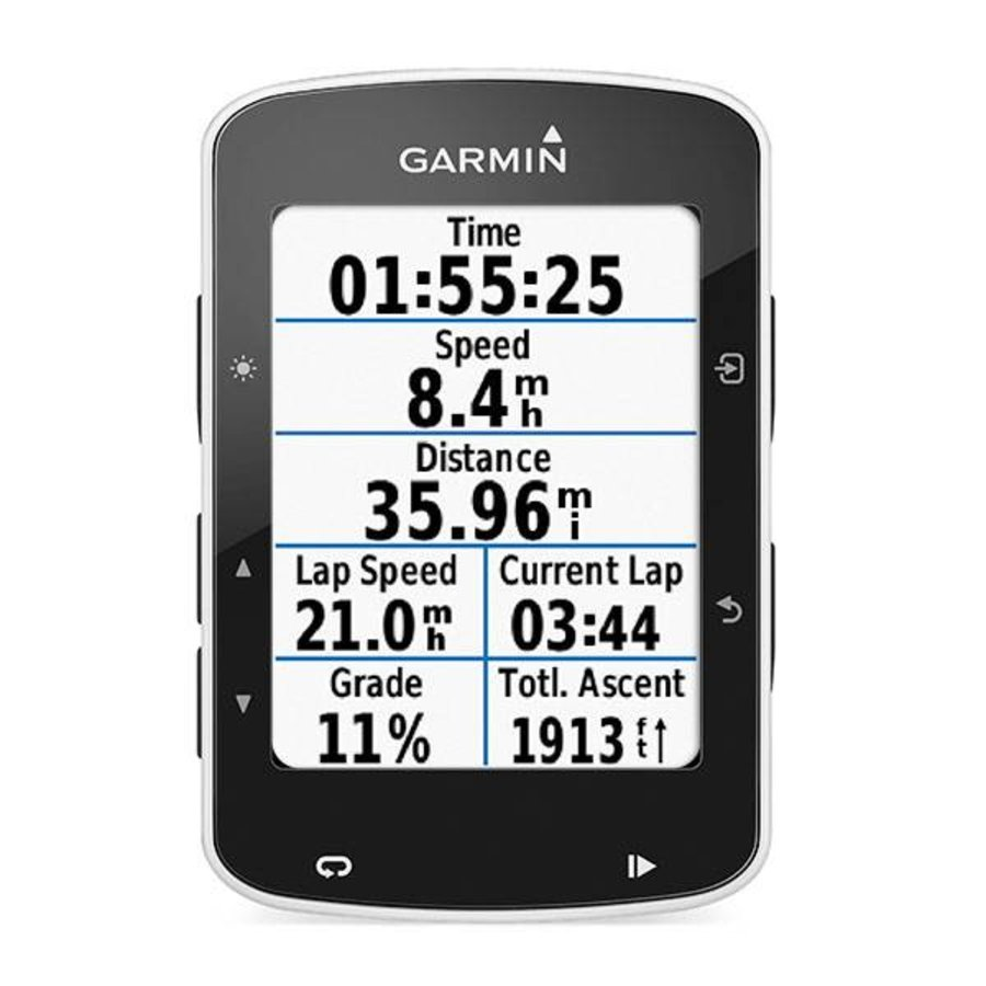 Garmin Edge 520 Cycling Computer Bundle