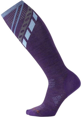 Smartwool PhD Ski Ultra Light Pattern Socks W