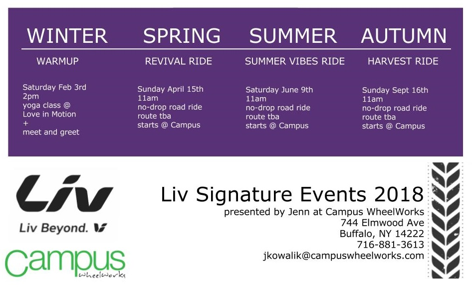 calander liv signature event buffalo