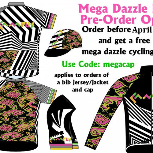 Campus Mega Dazzle Cycling Kit