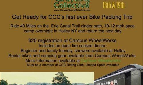 Erie Canal  Bikepacking Trip 8/18-8/19!