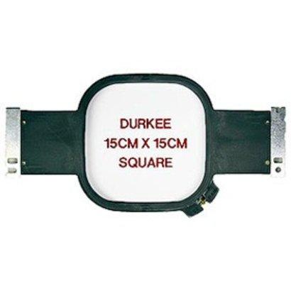 Durkee 15x15cm (6x6) Tubular Hoop, 400mm Needle Spacing