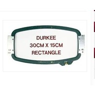 Durkee 30cm x 15cm Tubular Hoop, 400mm Needle Spacing