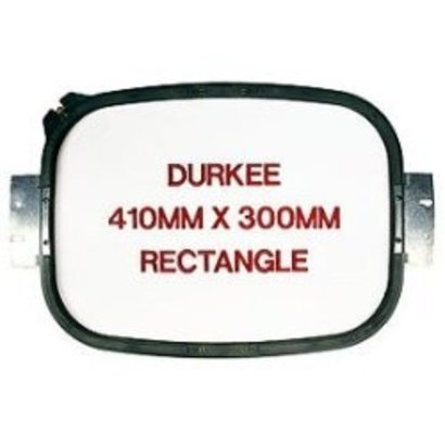 Durkee Durkee 16 X 12 (410mm x 300mm) Rectangular Hoop, 500MM Needle Spacing, Meistergram Compatible