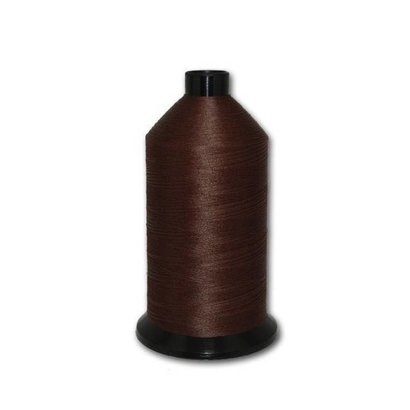 Fil-Tec Bonded Nylon 138 weight 1Lb cone Color - Dark Brown