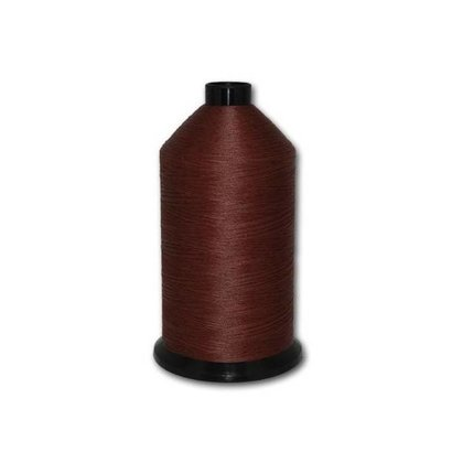 Fil-Tec Bonded Nylon 69 weight 1Lb cone Color - Dark Mahogany