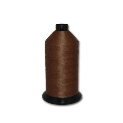 Fil-Tec Bonded Nylon 92 weight 1Lb cone Color - Chocolate