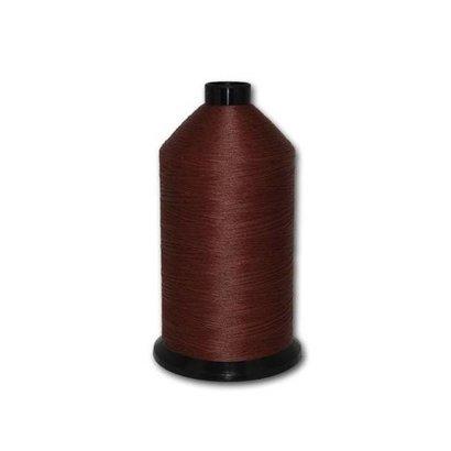 Fil-Tec Bonded Nylon 92 weight 1Lb cone Color - Dark Mahogany