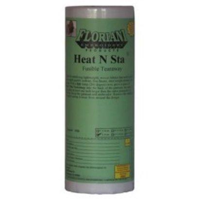 "Floriani's Heat N Sta Fusible Tearaway 1.5 oz 20"" x 10 yds"