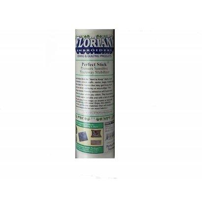 "Floriani's Perfect Stick (Pressure Sensitive Tearaway) 20"" x 10 yds"