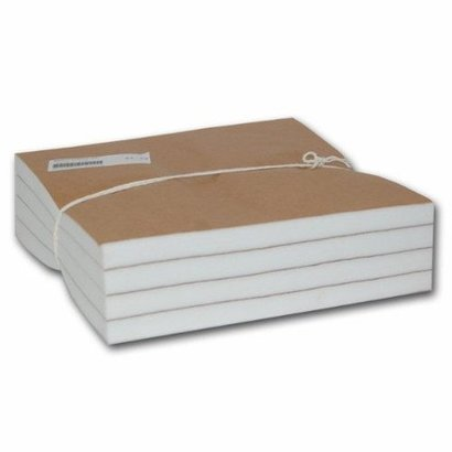 633W 3.0 oz. White Cutaway 12 inch x12 inch  precut Squares 100 pieces