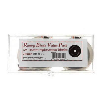 Checker 45mm Rotary Blade Replacement Bulk Pack 50ct Previously Item 4550VP