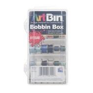 Checker Bobbin Box Plastic