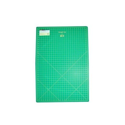 Checker Cutting Mat Omnigrid Green with Yellow Grid 24in x 36in