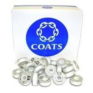 Coats Coats Trusew L white Prewound Bobbins -10 pack