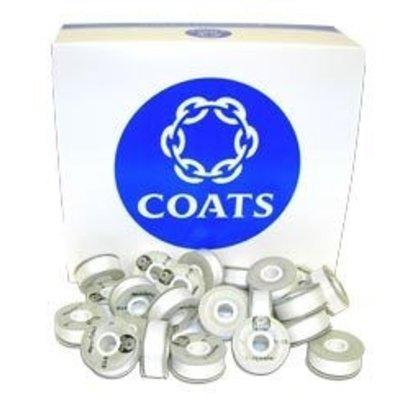 Coats Coats Trusew M white Prewound Bobbins -10 pack