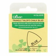 Checker Triangle Tailor's Chalk Blue