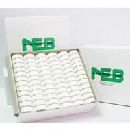 NEBS NEBS plastic sided prewound L bobbin 10 pack