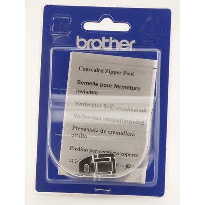 Brother Zipper/Concealed Fastener Foot (Snap on Foot). See catalog for machines; including the NV6000D