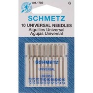 Schmetz Schmetz universal needle sizes 11,12,14,16