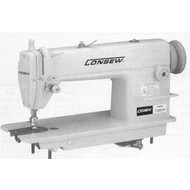 Consew Consew 7360RB - Big Bobbin, Ultra High Speed, Single Needle, Drop Feed Lockstitch Machine