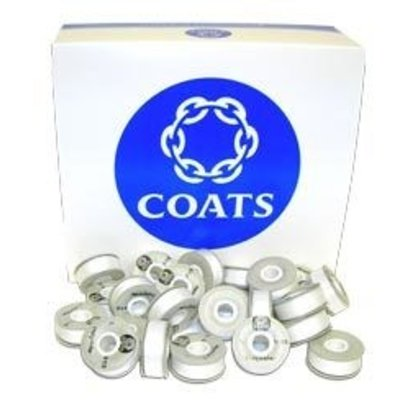 Coats Coats Polyester Astra M Prewound BobbinsWhite - 10 pack