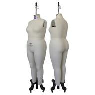 Women Plus Size Full Body Dress Form (Industry Pro)