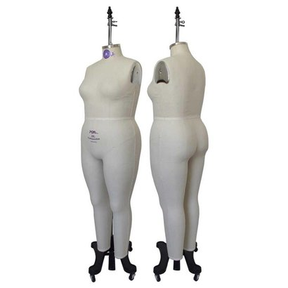 Women Plus Size Full Body Dress Form Industry Pro Sewingmachine