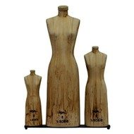 Ladies Mini Scale Dress Form Set