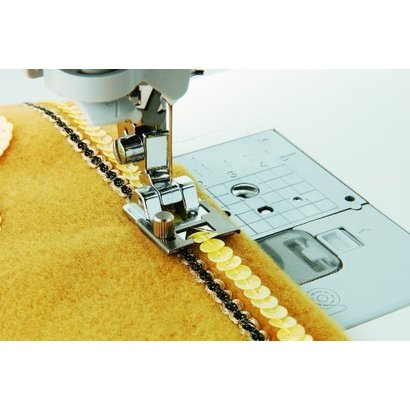 up to 5 mm width Braiding Foot . Fits all Brother home-use sewing machines; including the NV6000D
