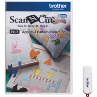No. 2 Applique Pattern- 50 designs come on a CD with the purchase of the cutting machine CM550DX