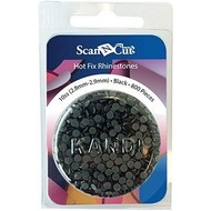 Brother Black Rhinestones 10ss Refill Pack