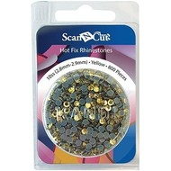 Brother Yellow Rhinestones 10ss Refill Pack