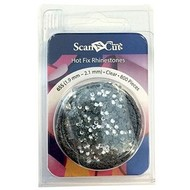 Brother Clear Rhinestones 6ss Refill Pack
