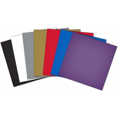 10 SHEET- CRAFT VINYL- ASST COLORS