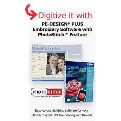 Photo Stitch Bundle. Includes Flip Pal + PEDPLUS + EFT10PKG