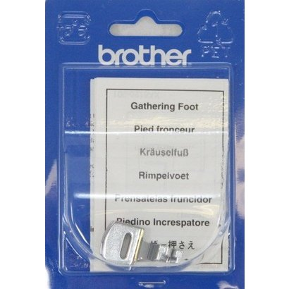 Gathering Foot. Fits all Brother home-use sewing machines (requires Low Shank Adapter). Fits NV6000D