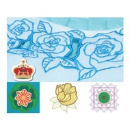 Brother Embroidery USB PR Cutwork Designs