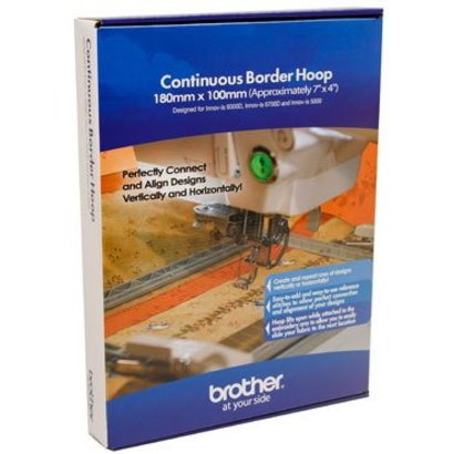 Brother Border Hoop 7x4 designed for the Quattro NV6000D