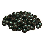 100 pack of prewound L bobbins-- black