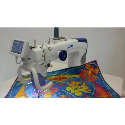 Juki TL40QVPS Sit Down 40x40 LongArm Free Motion Quilting Classy Juki Sewing Machine Stitch Regulator