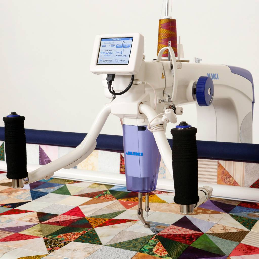 sit bailey home b long table arm down homequilter s quilter image quilting machines quilt