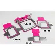 Hoop Tech HoopTech 599869 SlimLine Clamping Hoop Chassis, plus 4 Window Frames