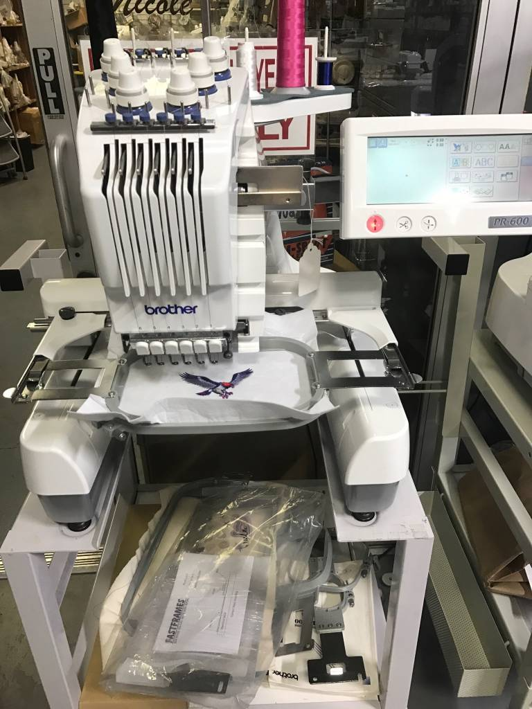 Brother Used Pr600 Sewingmachine Com