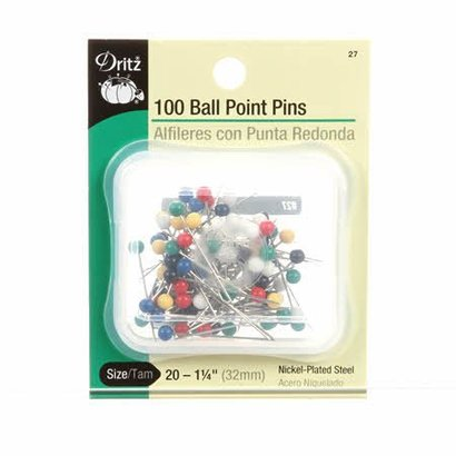 Checker Extra Long Ball Point Pin Size 20 - 1in 100ct