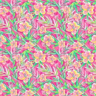 "Oracal 651 Patterned Adhesive Vinyl - Tropic Dream Pink 12"" x 12"" sheet"