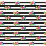 """Oracal 651 Patterned Adhesive Vinyl - Black and Blush 12"""" x 12"""" sheet"""